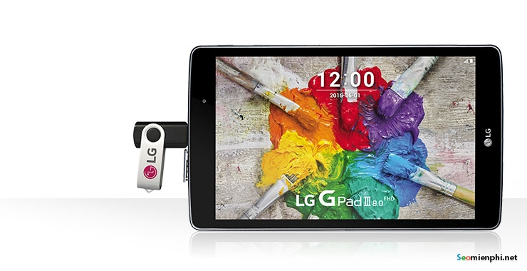 lg g pad iii 8 0  full hd android 6 0 gia 185 usd